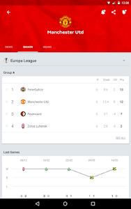 screenshot of Onefootball Live Soccer Scores version 9.4.0