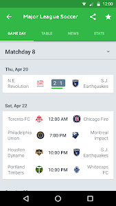 screenshot of Onefootball Live Soccer Scores version 9.7.0