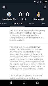 screenshot of Onefootball - Soccer scores version 8.6.0