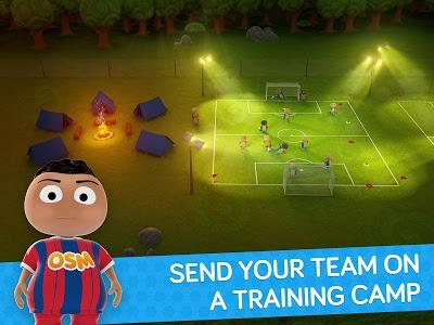 screenshot of Online Soccer Manager (OSM) version 1.54