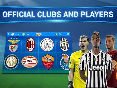 screenshot of Online Soccer Manager (OSM) version 3.1.6.2