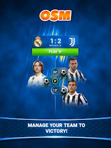 screenshot of Online Soccer Manager (OSM) version 3.4.08