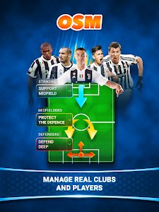 screenshot of Online Soccer Manager (OSM) version 3.4.09.5