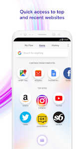 Download Opera Touch: the fast, new browser with Flow 1.10.5 APK