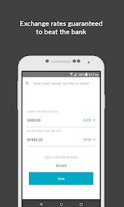 screenshot of OrbitRemit Money Transfer version 2.3.18