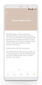 screenshot of Oriflame Business version 4.2.1