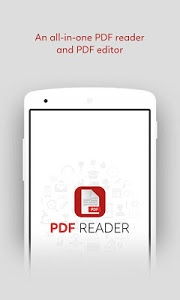 screenshot of PDF Reader Viewer, File Opener version 1.2