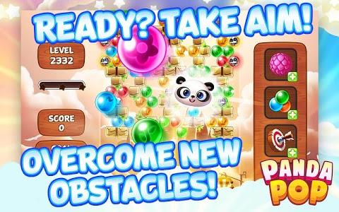 screenshot of Panda Pop version 5.5.101