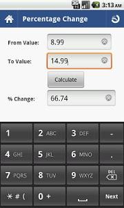 Download Percent Calculator 2.2 APK