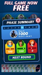 screenshot of Phase 10 - Play Your Friends! version 3.0.2.1