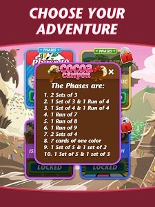 screenshot of Phase 10 version Varies with device