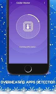 screenshot of Phone Cooler - CPU Cooler Master (Speed Booster) version 1.0.3