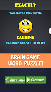 screenshot of Pics To Word - 2 Pics 1 Word – Fun Word Guessing version 1.3