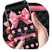 Download Pink Bowknot Diamond Leather Theme 1.1.1 APK