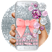 Download Pink Diamond Lace Bow Keyboard 10001015 APK