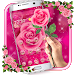 Download Pink Rose Love Theme 1.1.5 APK