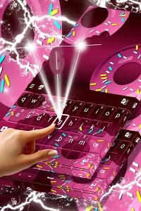 Download Purple Sprinkled Donuts Keyboard 1.279.1.18 APK