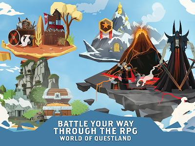 screenshot of Questland: Fantasy RPG Adventure & Heroes Arena version 1.11.1