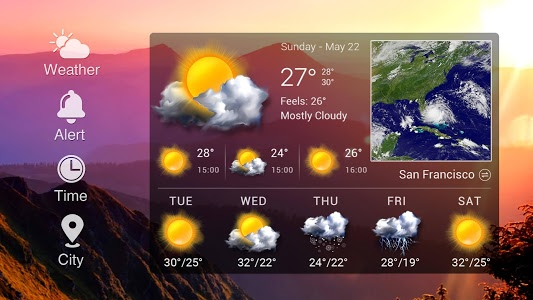 Download Real-time weather forecasts 14.0.0.4232_4301 APK