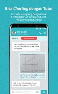screenshot of Ruangguru - One-stop Learning Solution version 3.1.9