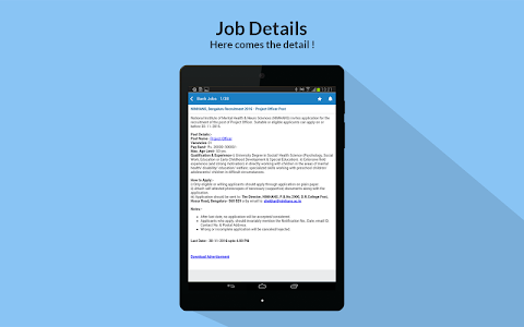 screenshot of Sarkari Naukri - Govt job search & free jobs alert version 1.8.1