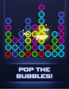 screenshot of Sci-Fi Bubble Breaker version 2.3.0