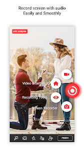 screenshot of Screen Recorder With Audio And Editor & Screenshot version 2.0.7