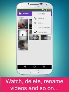 screenshot of Secret Video Recorder version 3.5