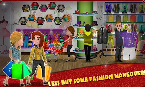 screenshot of Shopping Mall Cashier Girl - Cash Register Games version 1.4