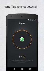 screenshot of ShutApp - Real Battery Saver version 2.29
