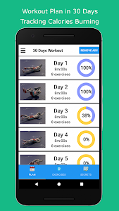 screenshot of Six Pack in 30 Days version 1.3.2