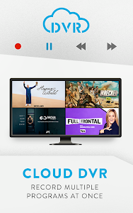 screenshot of Sling TV version 5.10.833