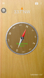 screenshot of Smart Compass version 1.8.0