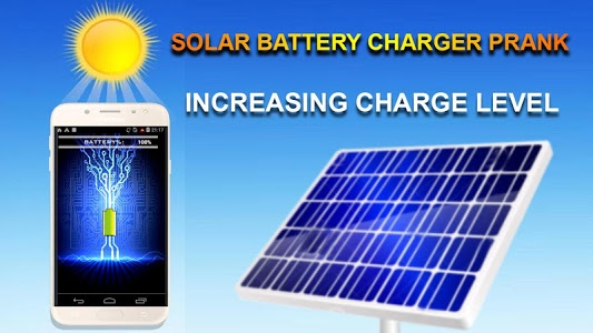 screenshot of Solar Battery Charger Prank version 1.0.4