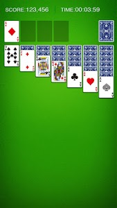 screenshot of Solitaire version 2.160.0