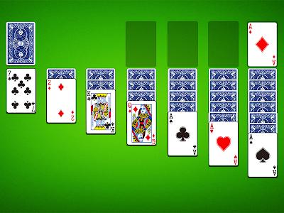 screenshot of Solitaire version 2.160.0