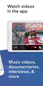 screenshot of Spinrilla - Hip-Hop Mixtapes & Music version Varies with device