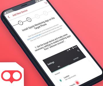 screenshot of Spy Zie App version 1.4