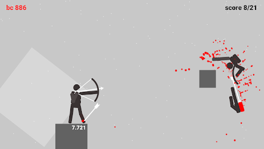 screenshot of Stickman Archers version 1.01