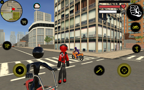 screenshot of Stickman Rope Hero version 2.4