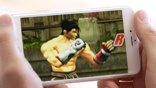 screenshot of Super Warrior: Tekken Fight version 1.0.2