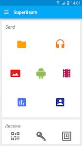 screenshot of SuperBeam   WiFi Direct Share version 4.1.3