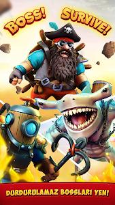 screenshot of Survival Arena version 1.3.0