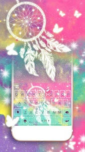 Download Sweet Dream Catcher Keyboard Theme 1.0 APK