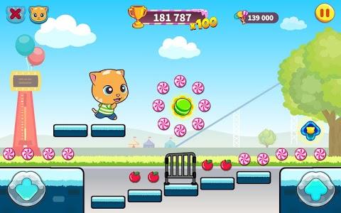 screenshot of Talking Tom Candy Run version 1.4.5.259