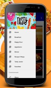 screenshot of Tasty version 1.2.1
