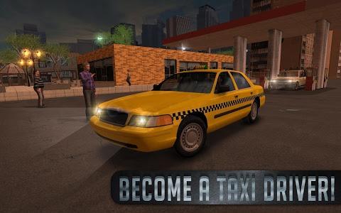 screenshot of Taxi Sim 2016 version 1.5.0