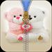 Download Teddy Bear Zipper Lock 2.0 APK