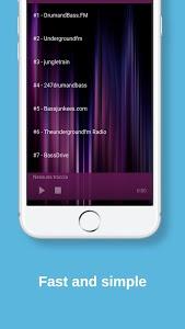 screenshot of Tekno Hardtek Psy Goa Radio version 1.0