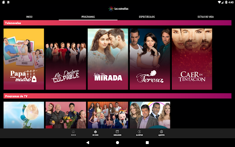 screenshot of las estrellas version Varies with device